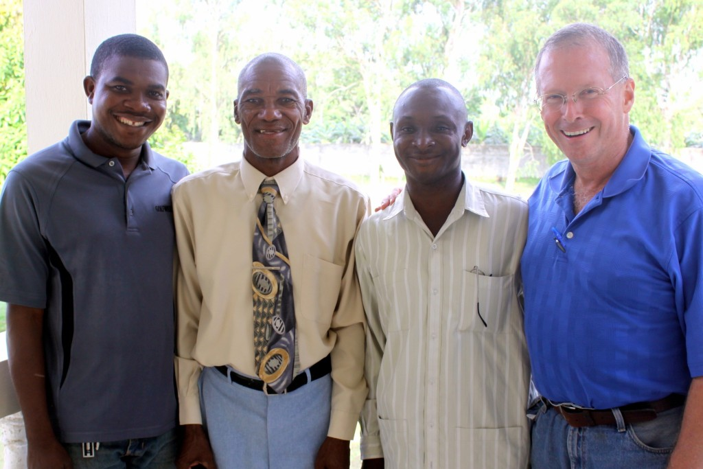 CBT Haitian Directors Richard, Bellot and Fonrose with Dale Huff